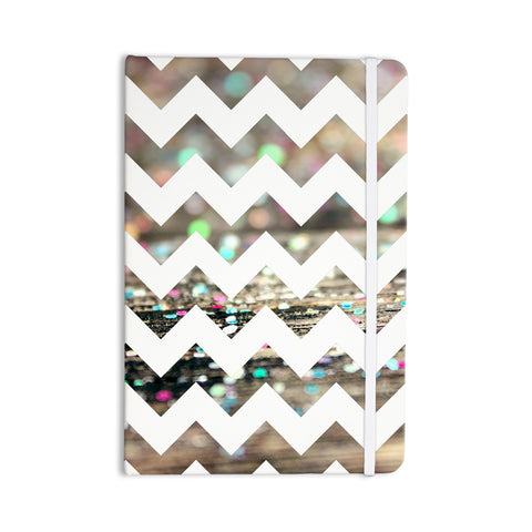 "Beth Engel ""After Party Chevron"" Everything Notebook - KESS InHouse  - 1"