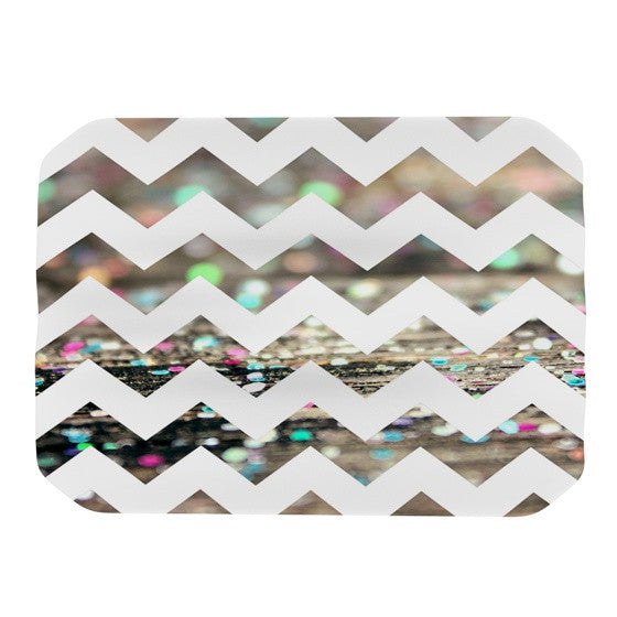 "Beth Engel ""After Party Chevron"" Place Mat - KESS InHouse"