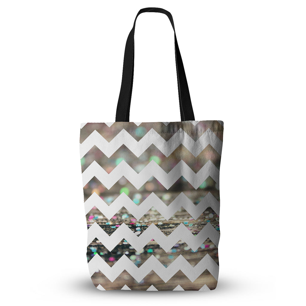 "Beth Engel ""After Party Chevron"" Everything Tote Bag - KESS InHouse  - 1"