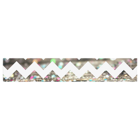 "Beth Engel ""After Party Chevron"" Table Runner - KESS InHouse  - 1"