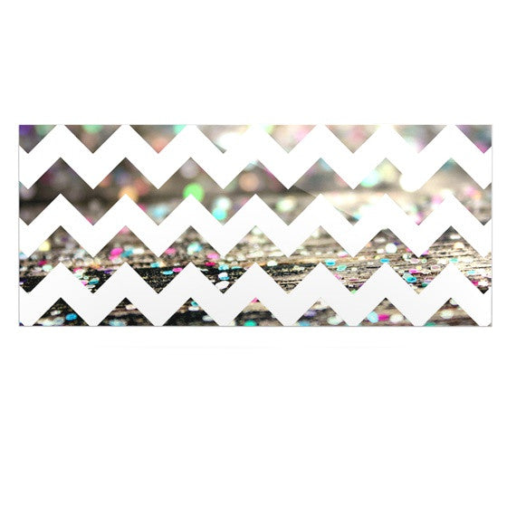 "Beth Engel ""After Party Chevron"" Luxe Rectangle Panel - KESS InHouse  - 1"