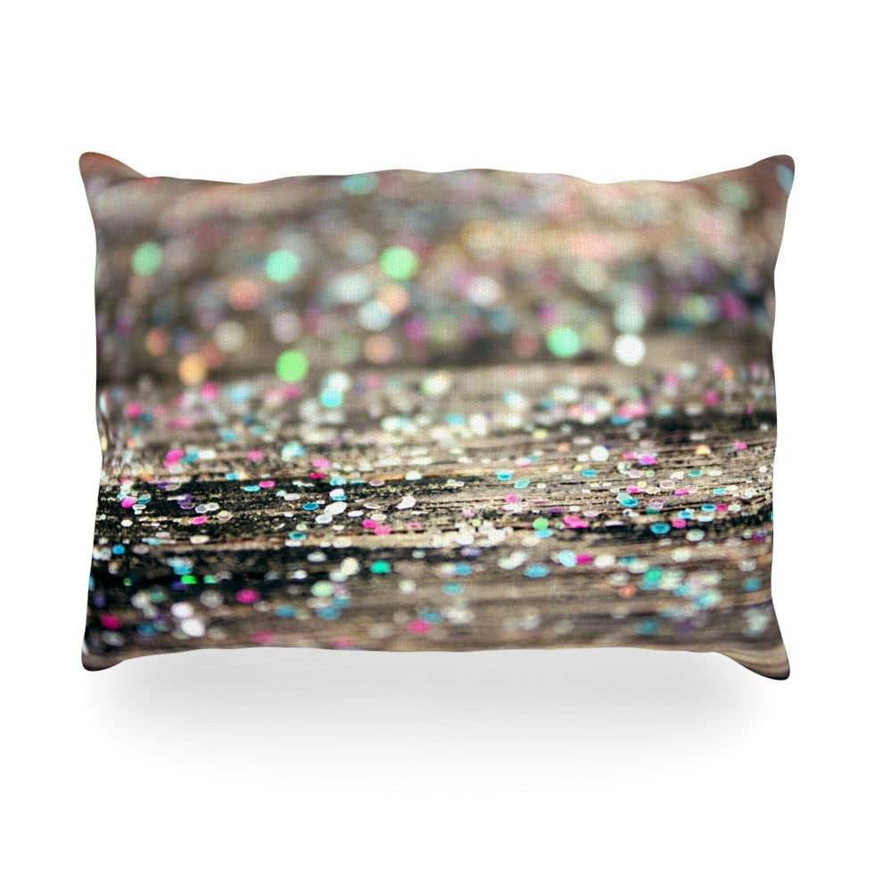 "Beth Engel ""After Party"" Oblong Pillow - KESS InHouse"