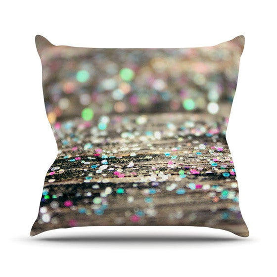"Beth Engel ""After Party"" Throw Pillow - KESS InHouse  - 1"