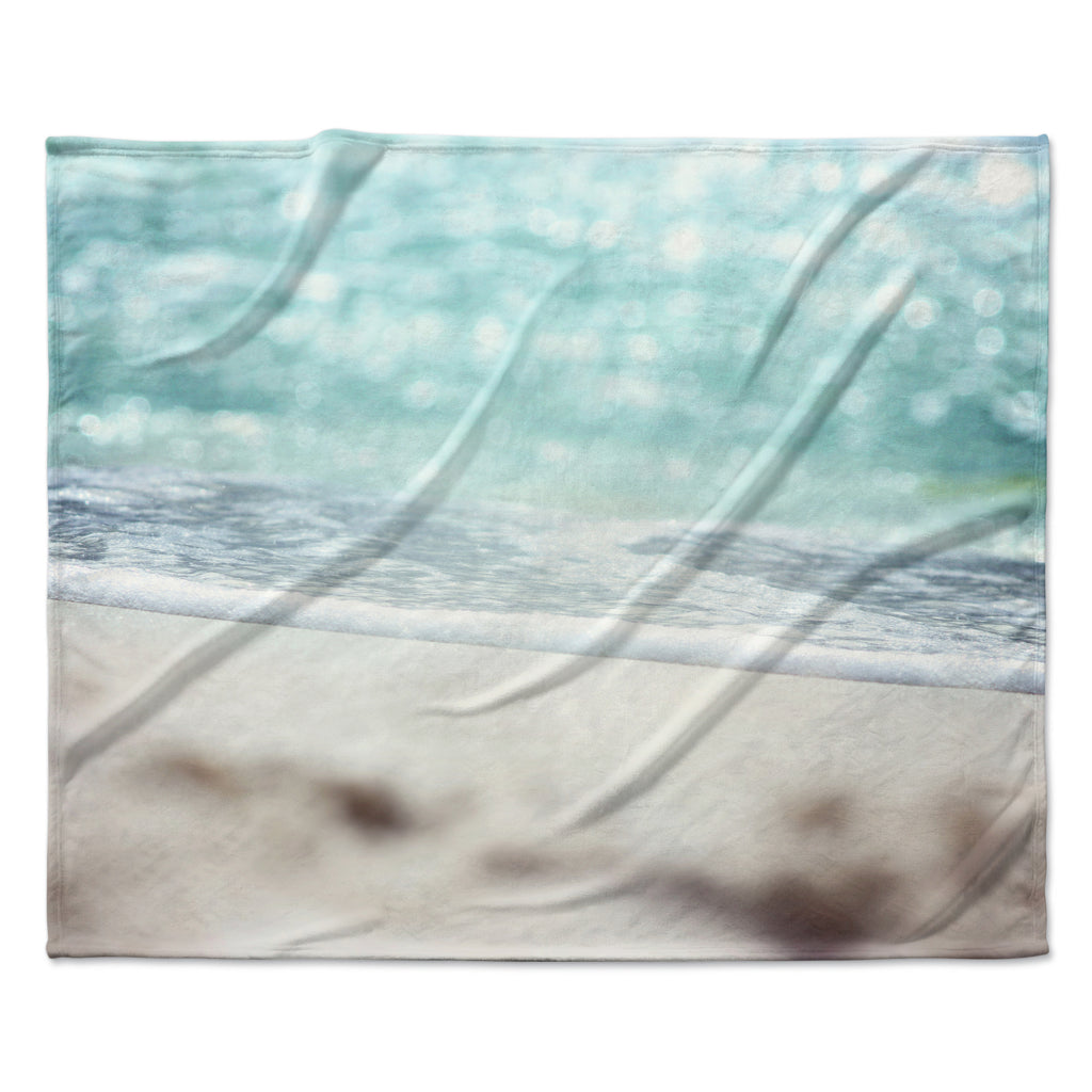 "Beth Engel ""Serenity"" Fleece Throw Blanket"
