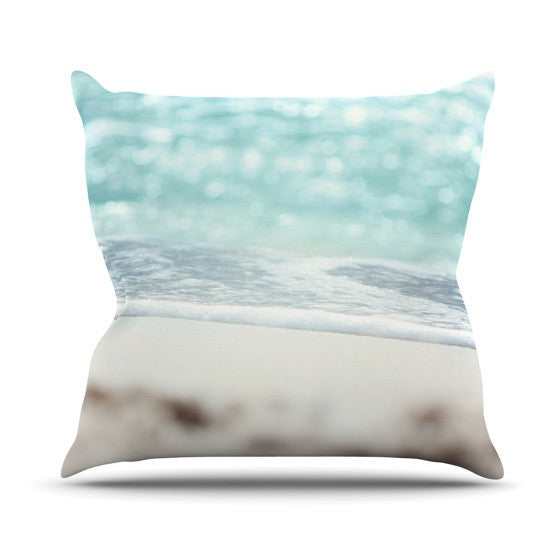 "Beth Engel ""Serenity"" Outdoor Throw Pillow - KESS InHouse  - 1"