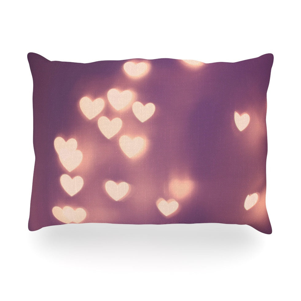 "Beth Engel ""Your Love is Electrifying"" Oblong Pillow - KESS InHouse"