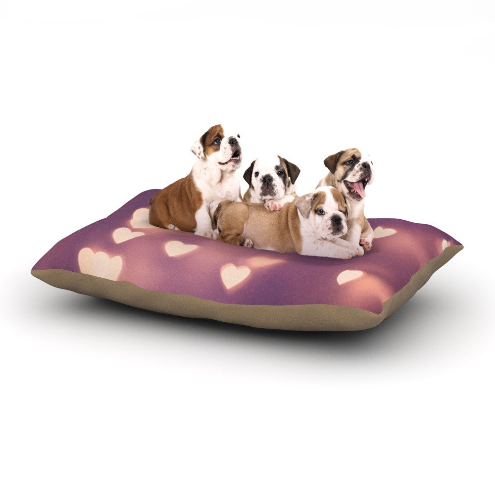 "Beth Engel ""Your Love is Electrifying"" Dog Bed - KESS InHouse  - 1"