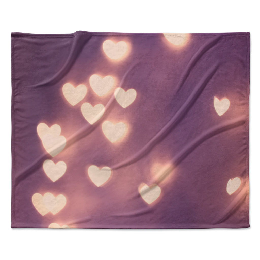 "Beth Engel ""Your Love is Electrifying"" Fleece Throw Blanket"