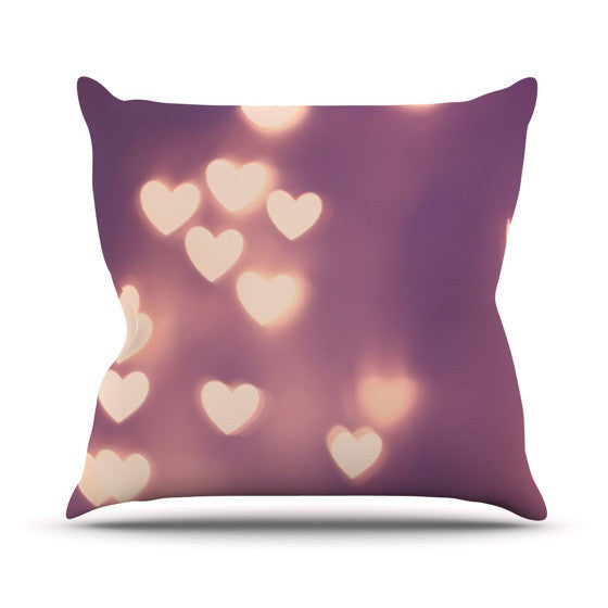 "Beth Engel ""Your Love is Electrifying"" Outdoor Throw Pillow - KESS InHouse  - 1"
