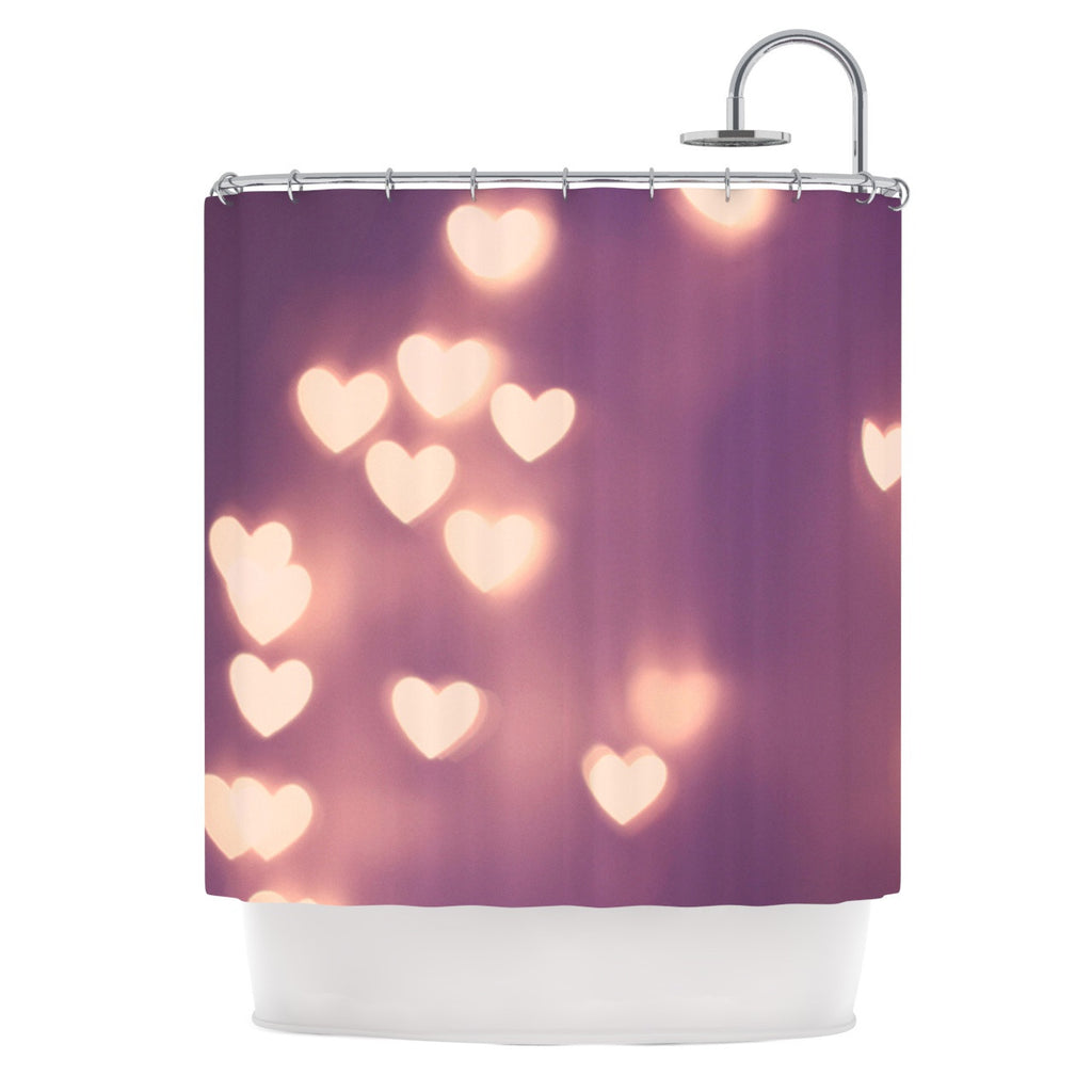 "Beth Engel ""Your Love is Electrifying"" Shower Curtain - KESS InHouse"