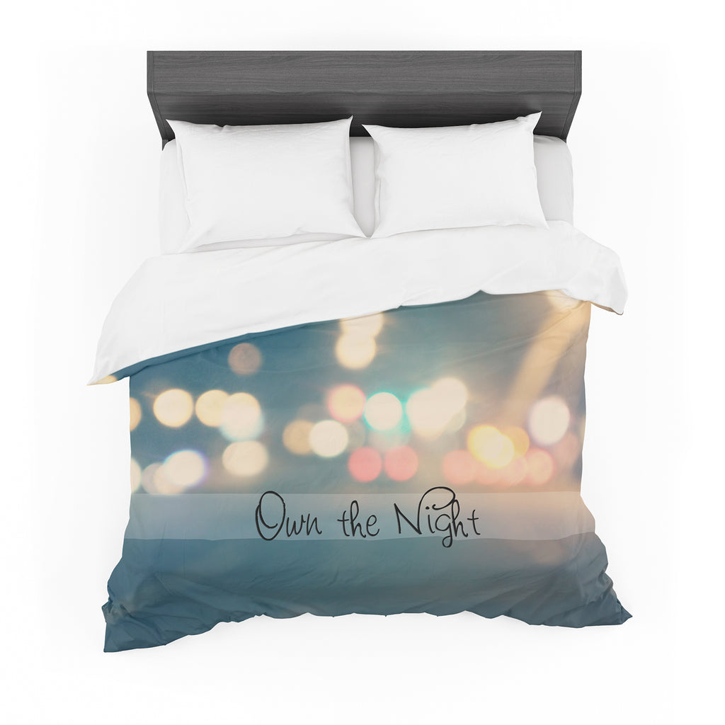 "Beth Engel ""Own The Night"" Featherweight Duvet Cover"