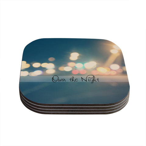 "Beth Engel ""Own The Night"" Coasters (Set of 4)"