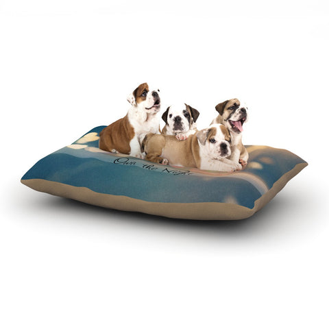 "Beth Engel ""Own The Night"" Dog Bed - KESS InHouse  - 1"