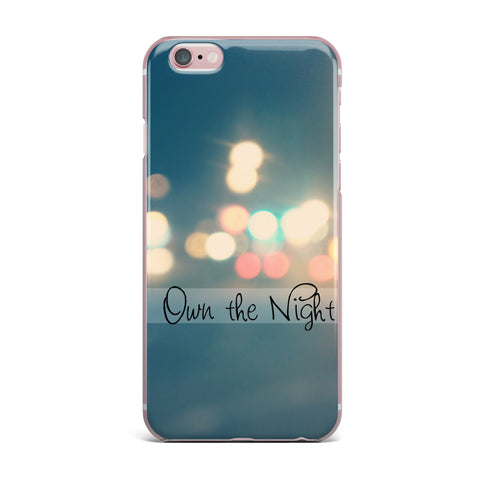 "Beth Engel ""Own The Night"" iPhone Case - KESS InHouse"