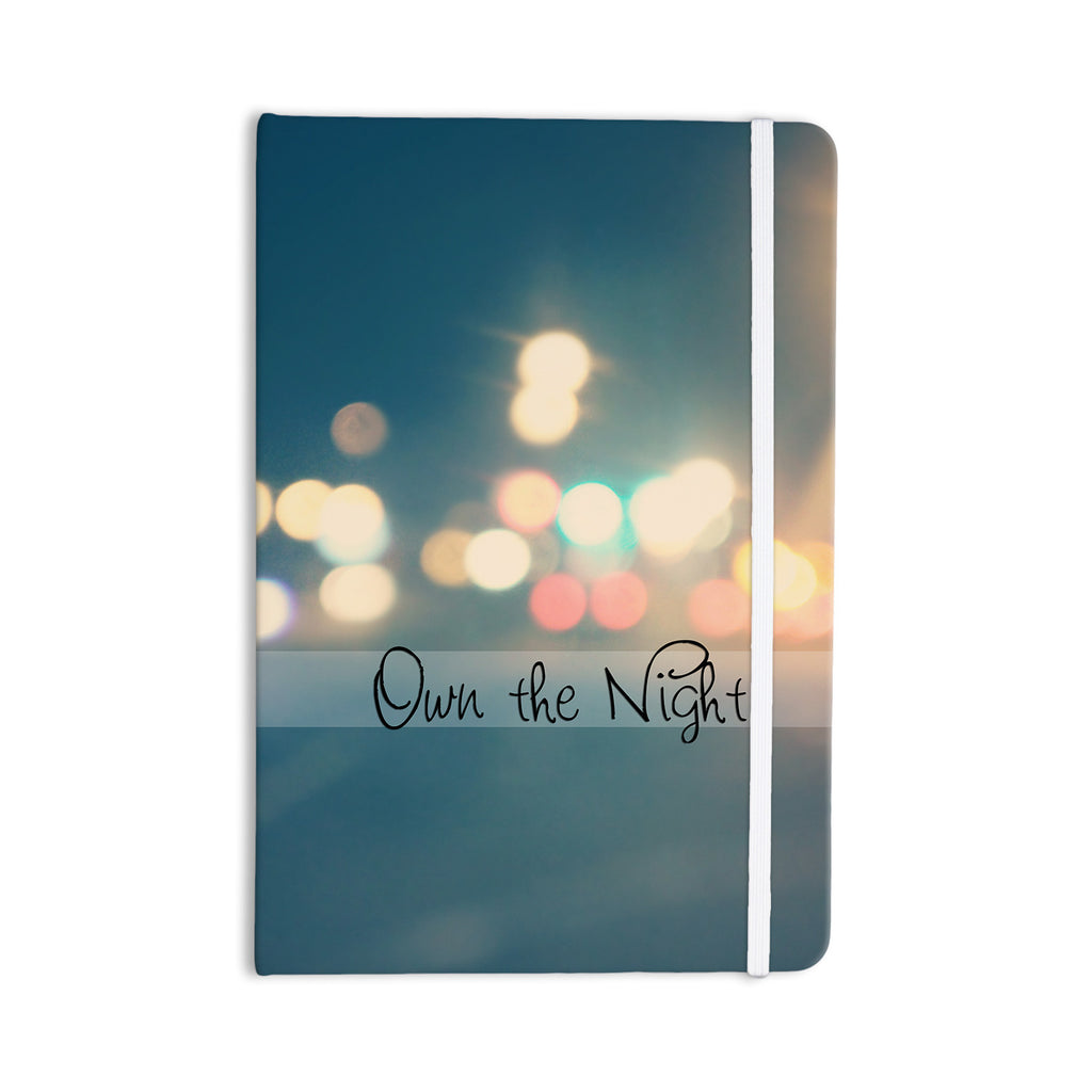 "Beth Engel ""Own The Night"" Everything Notebook - KESS InHouse  - 1"