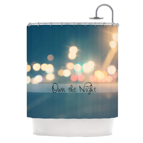 "Beth Engel ""Own The Night"" Shower Curtain - KESS InHouse"