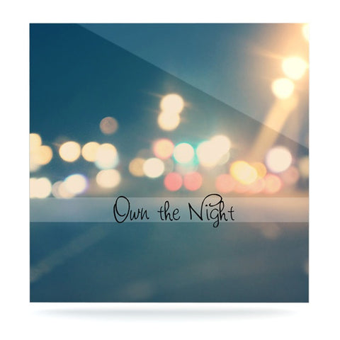 "Beth Engel ""Own The Night"" Luxe Square Panel - KESS InHouse  - 1"