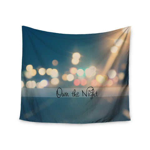 "Beth Engel ""Own The Night"" Wall Tapestry - KESS InHouse  - 1"