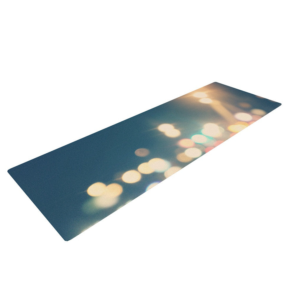 "Beth Engel ""Own The Night"" Yoga Mat - KESS InHouse  - 1"