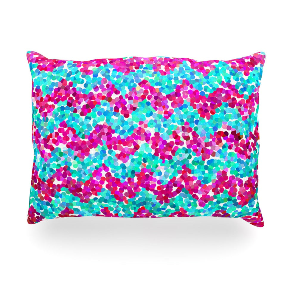 "Beth Engel ""Scattered"" Oblong Pillow - KESS InHouse"