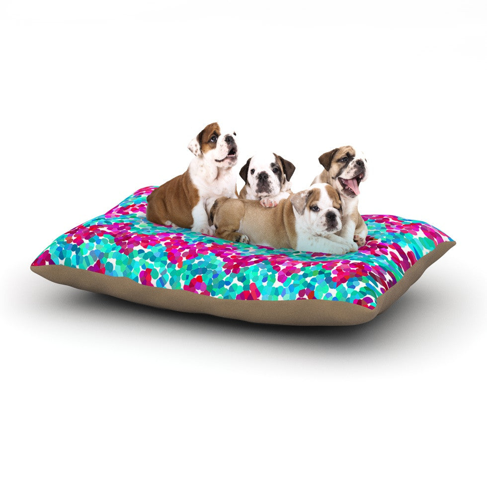 "Beth Engel ""Scattered"" Dog Bed - KESS InHouse  - 1"