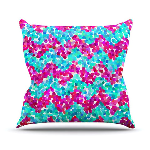 "Beth Engel ""Scattered"" Throw Pillow - KESS InHouse  - 1"