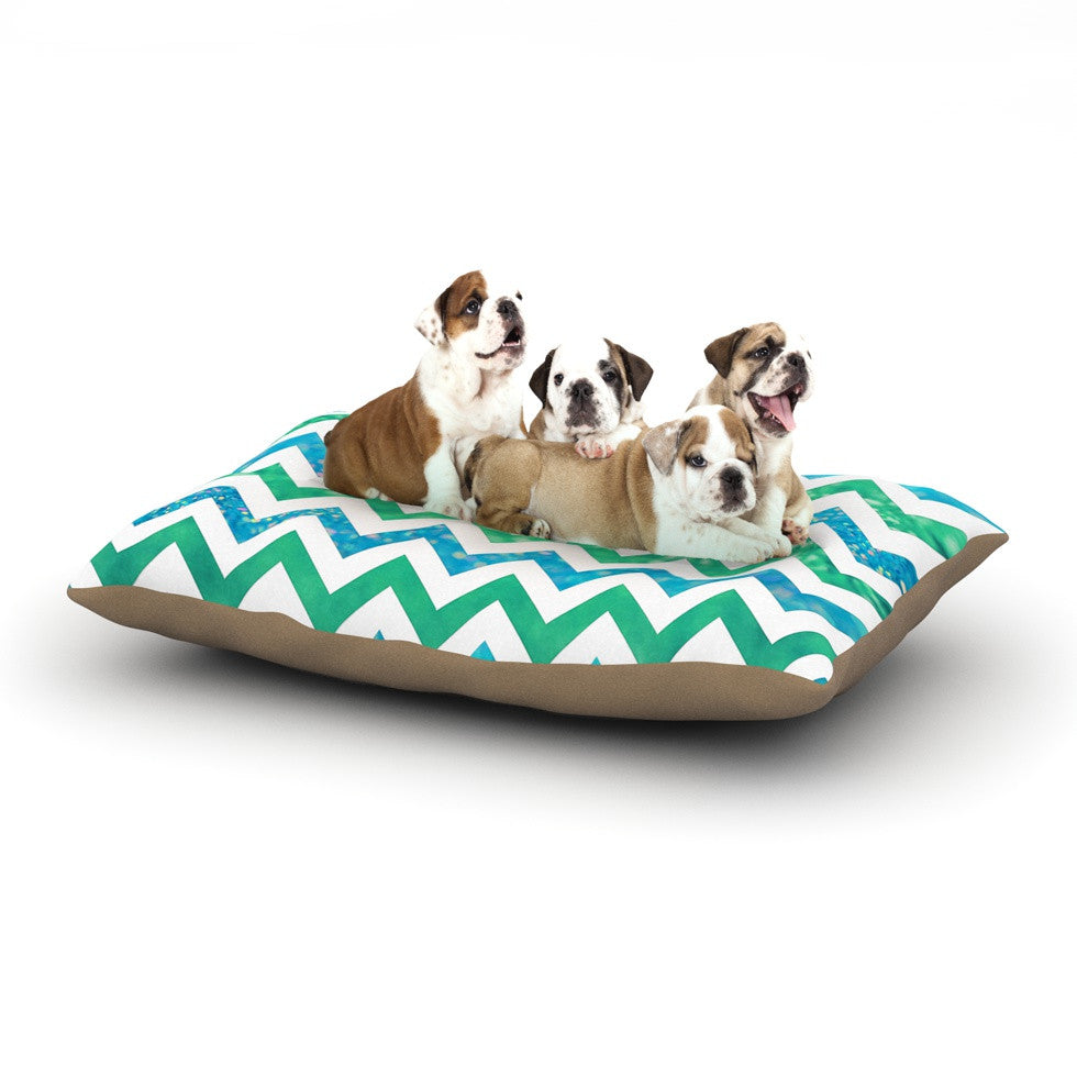 "Beth Engel ""By The Sea"" Dog Bed - KESS InHouse  - 1"