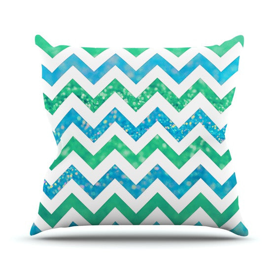 "Beth Engel ""By The Sea"" Throw Pillow - KESS InHouse  - 1"