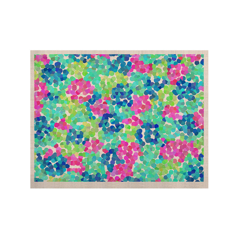 "Beth Engel ""Flower Garden"" KESS Naturals Canvas (Frame not Included) - KESS InHouse  - 1"