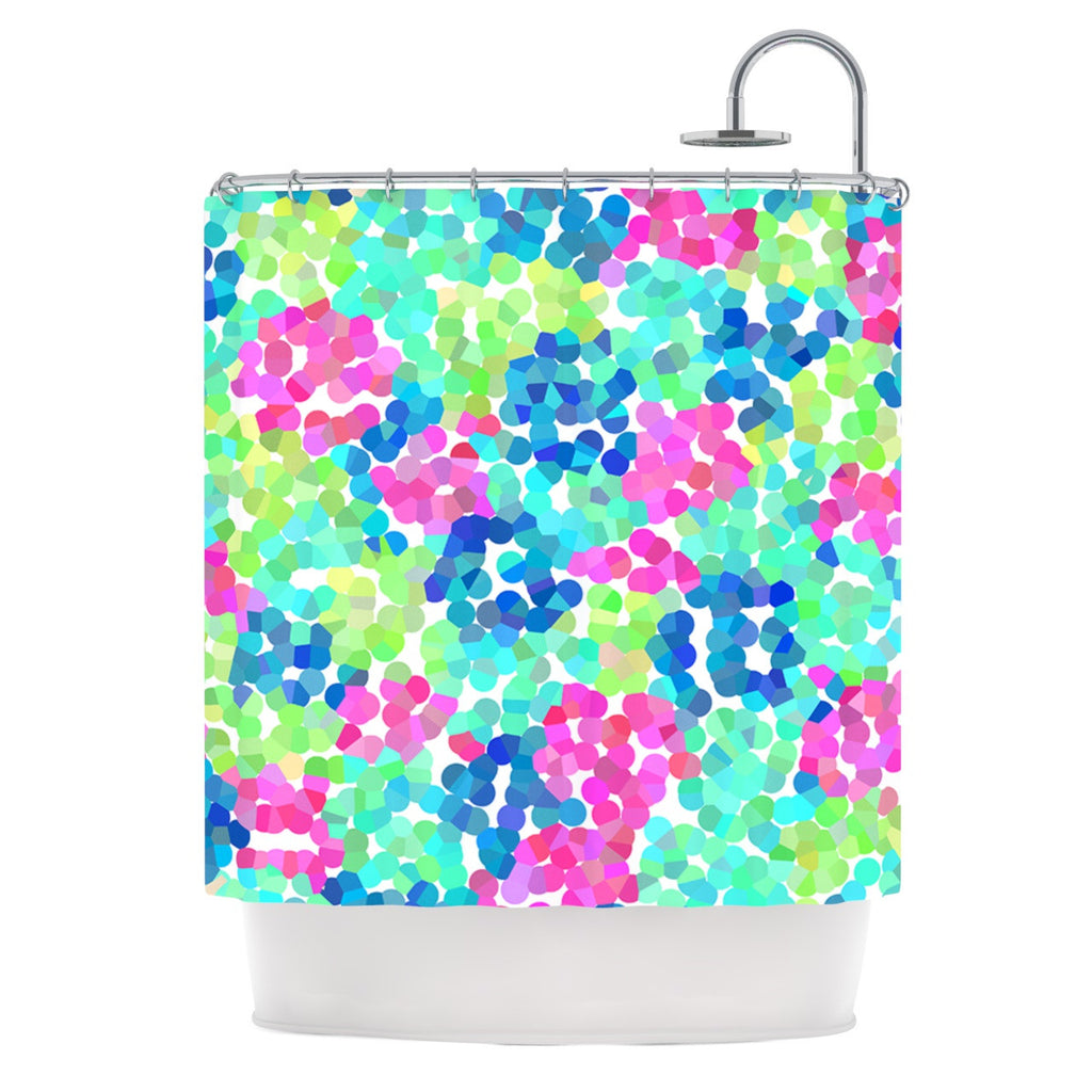 "Beth Engel ""Flower Garden"" Shower Curtain - KESS InHouse"