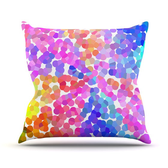 "Beth Engel ""Searching"" Throw Pillow - KESS InHouse  - 1"