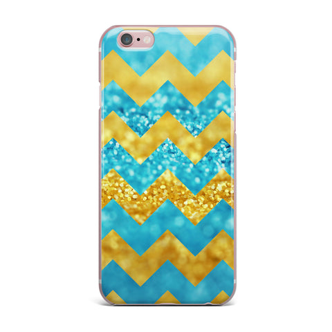 "Beth Engel ""Blueberry Twist"" Chevron iPhone Case - KESS InHouse"