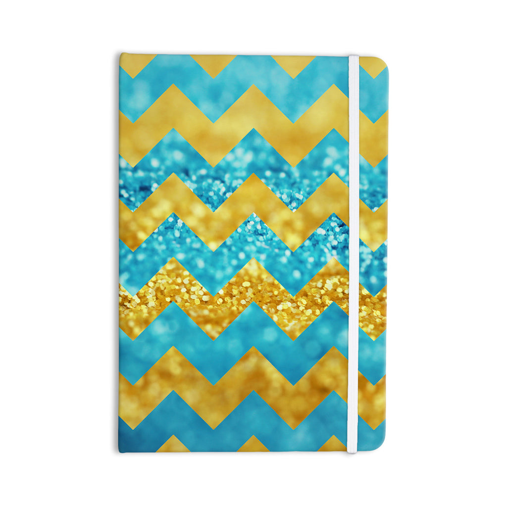 "Beth Engel ""Blueberry Twist"" Chevron Everything Notebook - KESS InHouse  - 1"