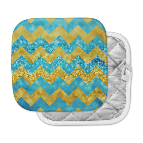 "Beth Engel ""Blueberry Twist"" Chevron Pot Holder"