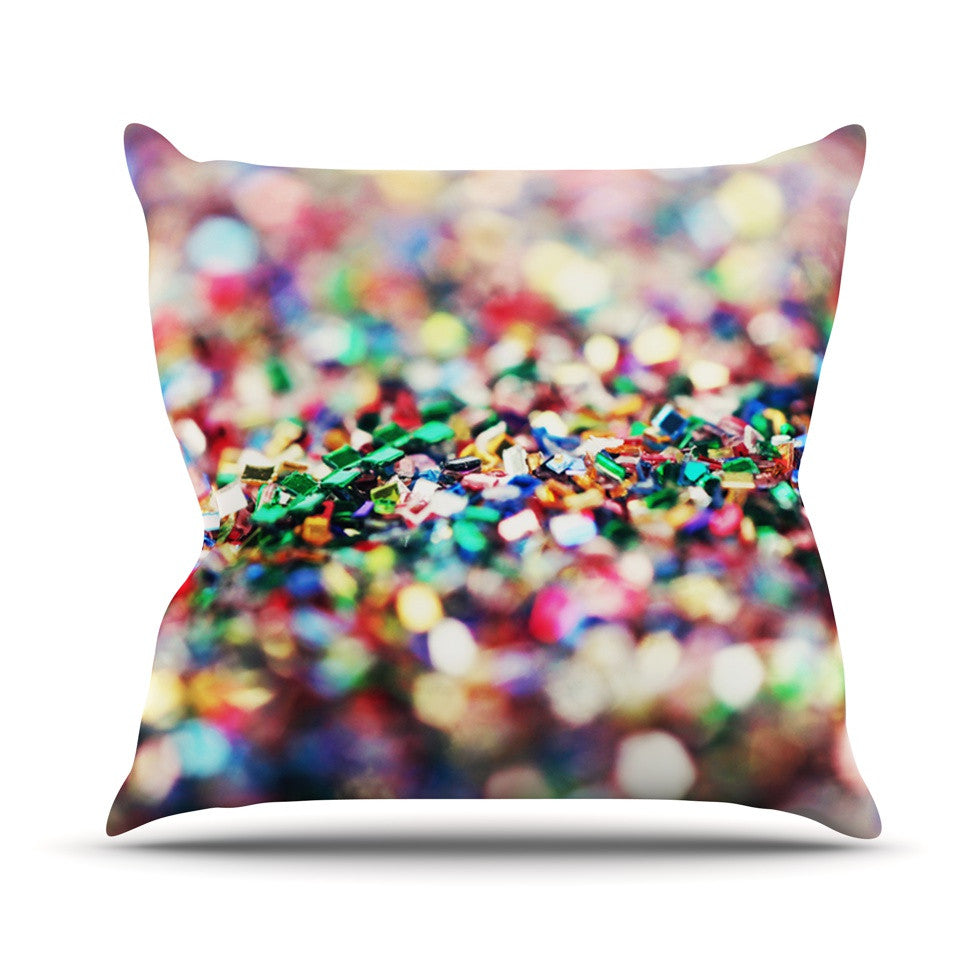 "Beth Engel ""Celebrate"" Throw Pillow - KESS InHouse  - 1"