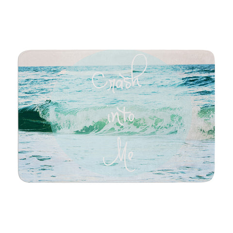 "Beth Engel ""Crash Into Me"" Memory Foam Bath Mat - KESS InHouse"