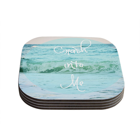 "Beth Engel ""Crash Into Me"" Coasters (Set of 4)"