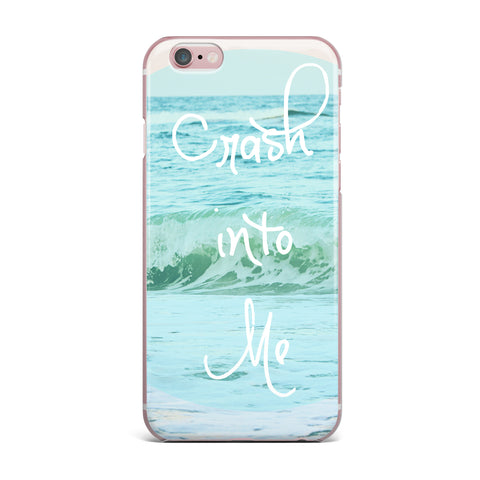"Beth Engel ""Crash Into Me"" iPhone Case - KESS InHouse"