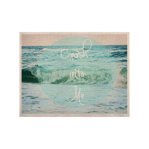 "Beth Engel ""Crash Into Me"" KESS Naturals Canvas (Frame not Included) - KESS InHouse  - 1"