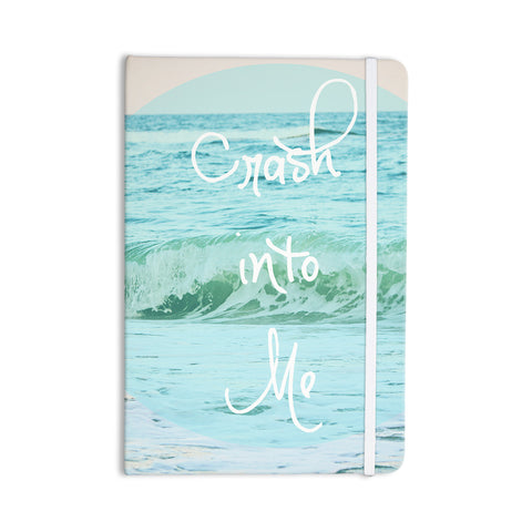 "Beth Engel ""Crash Into Me"" Everything Notebook - KESS InHouse  - 1"