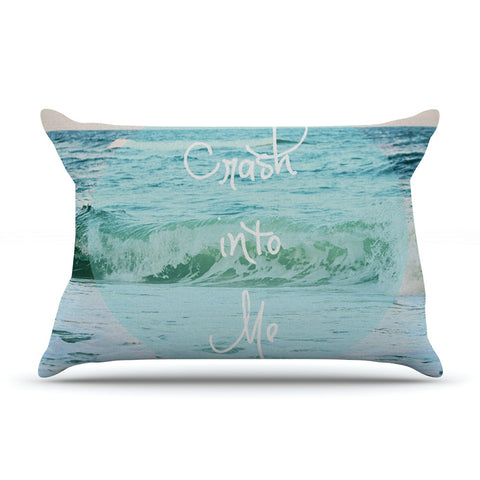 "Beth Engel ""Crash Into Me"" Pillow Sham - KESS InHouse"