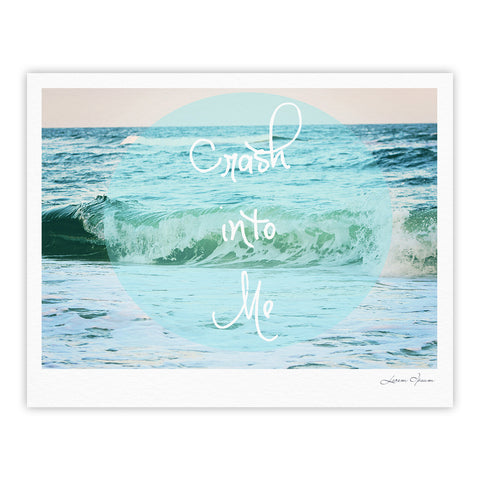 "Beth Engel ""Crash Into Me"" Fine Art Gallery Print - KESS InHouse"