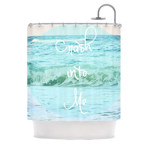 "Beth Engel ""Crash Into Me"" Shower Curtain - KESS InHouse"