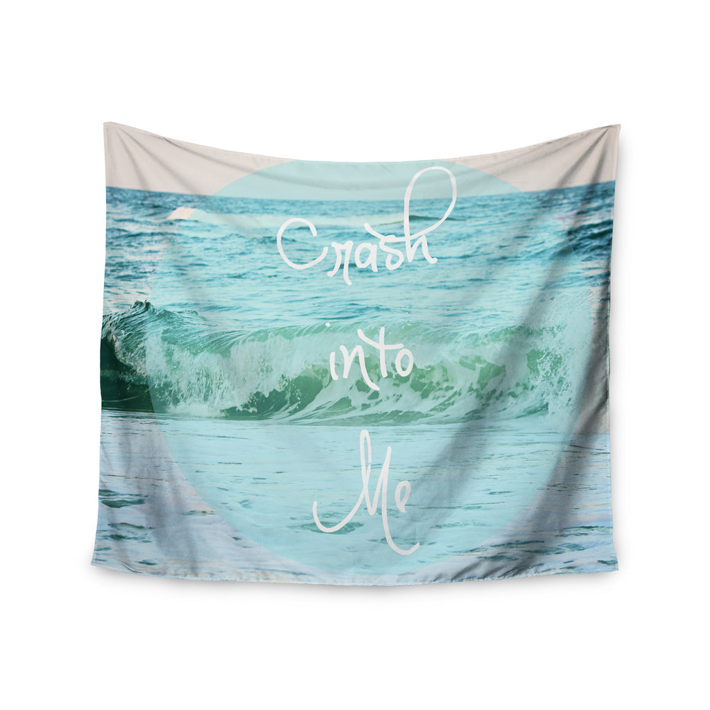 "Beth Engel ""Crash Into Me"" Wall Tapestry - KESS InHouse  - 1"