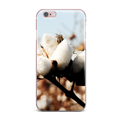 "Beth Engel ""Southern Snow"" Cotton iPhone Case - KESS InHouse"