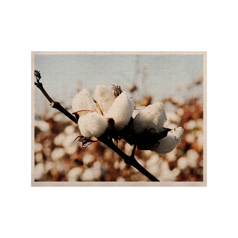 "Beth Engel ""Southern Snow"" Cotton KESS Naturals Canvas (Frame not Included) - KESS InHouse  - 1"