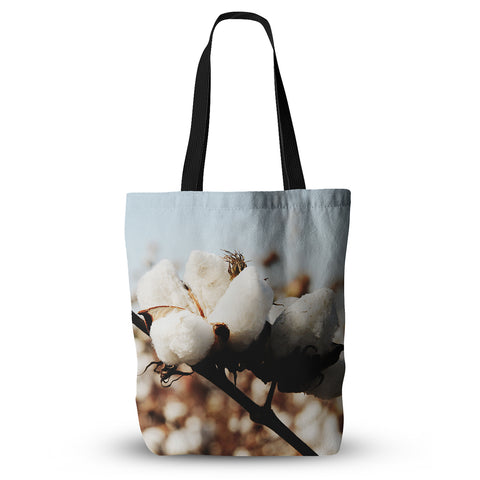 "Beth Engel ""Southern Snow"" Cotton Everything Tote Bag - Outlet Item"