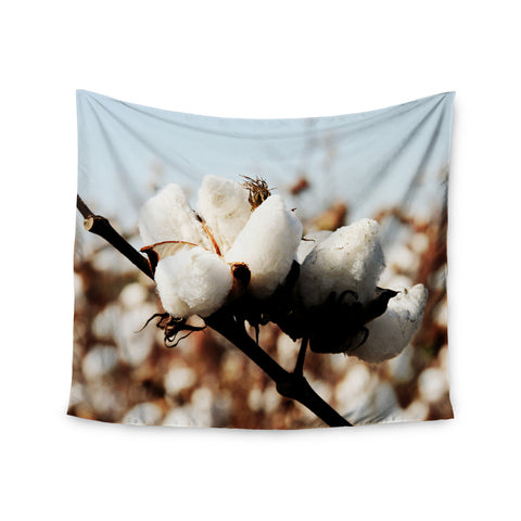 "Beth Engel ""Southern Snow"" Cotton Wall Tapestry - KESS InHouse  - 1"