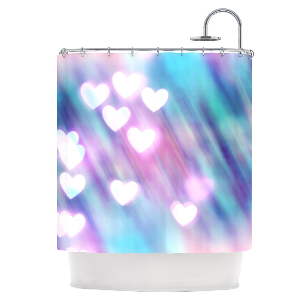 Beth Engel Your Love Is Sweet Like Candy Heart Shower Curtain