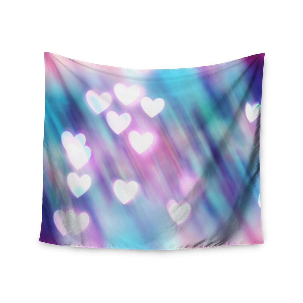 "Beth Engel ""Your Love is Sweet Like Candy"" Heart Wall Tapestry - KESS InHouse  - 1"